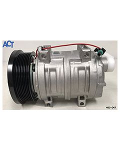 Compressor, Tm-21, 8 Gr, 12V,  No Head,  Black Clutch