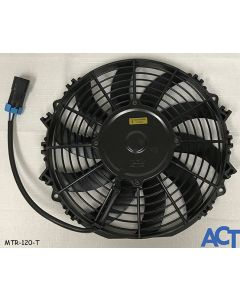 Fan Assembly, Condenser, Extull 10 Low Profile, 12V, Metripack 280